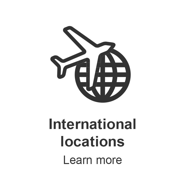 International locations