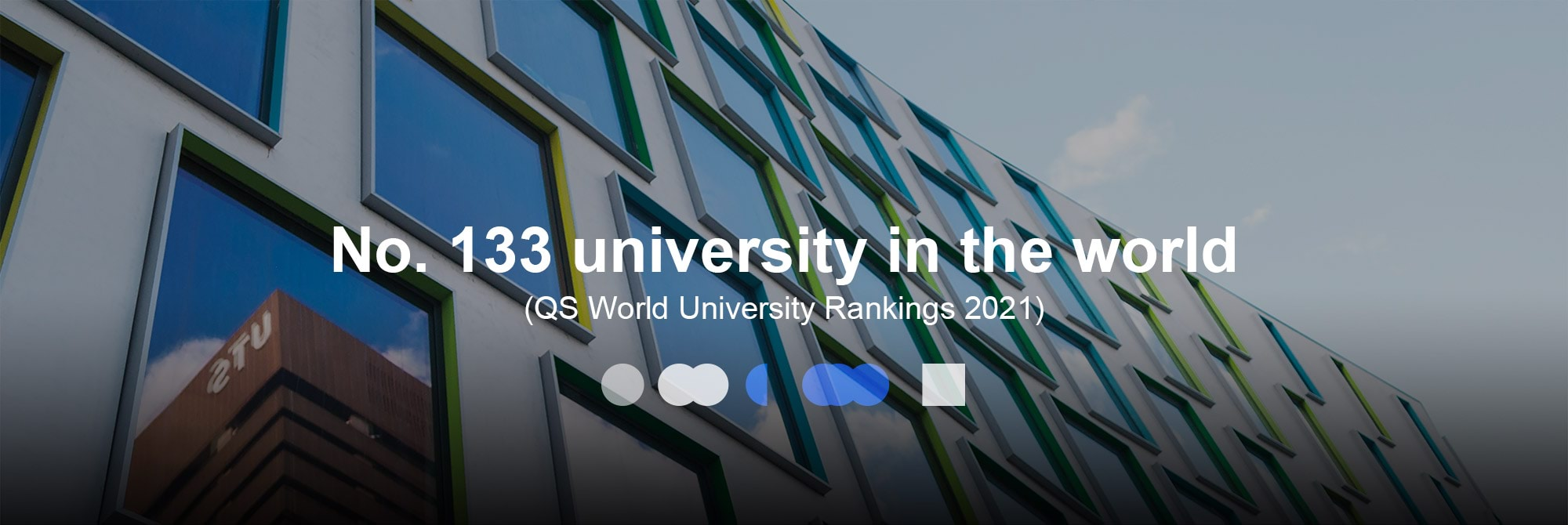 No. 133 university in the world