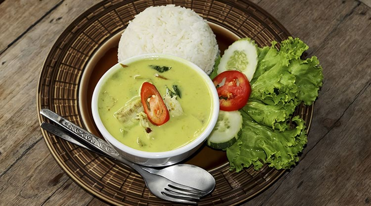 Thi green curry
